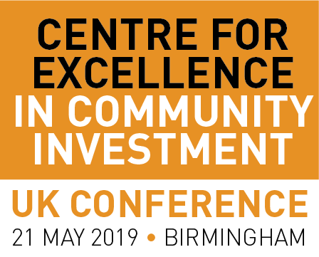The Centre for Excellence in Community Investment: National Conference 2019