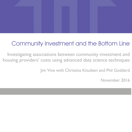Community investment and the bottom line