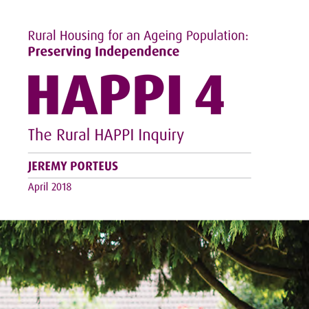 Rural housing for an ageing population: Preserving independence