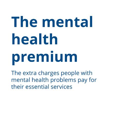 The mental health premium