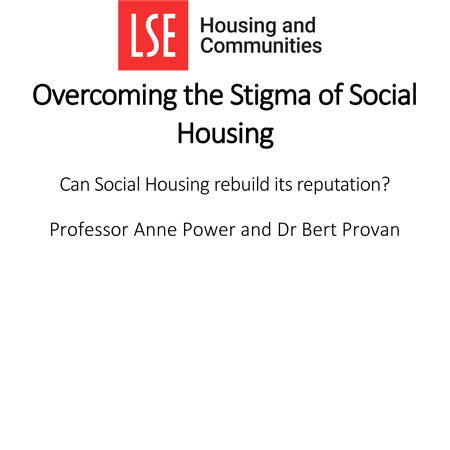 Overcoming the stigma of social housing