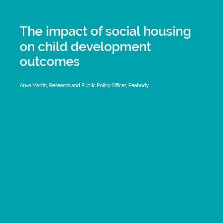 The impact of social housing on child development outcomes