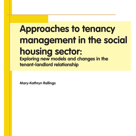 Approaches to tenancy management in the social housing sector
