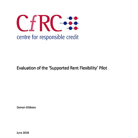 Evaluation of the Supported Rent Flexibility pilot