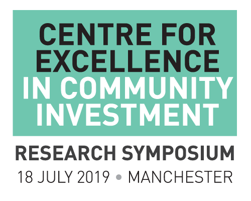 The Centre for Excellence in Community Investment: Research Symposium 2019