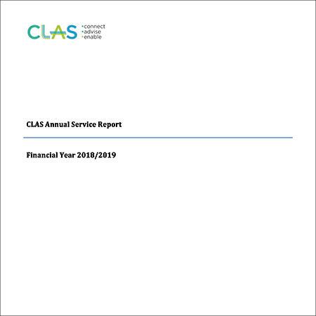 CLAS Annual Service Report 2018/2019