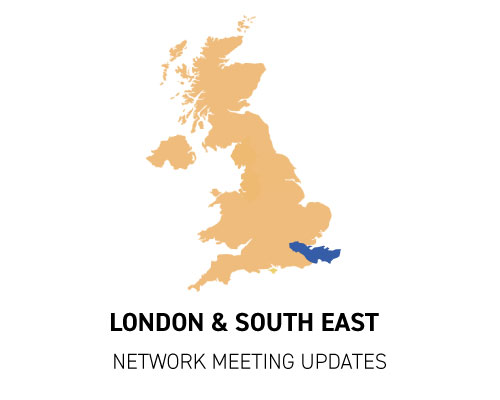 London & South East network meeting updates