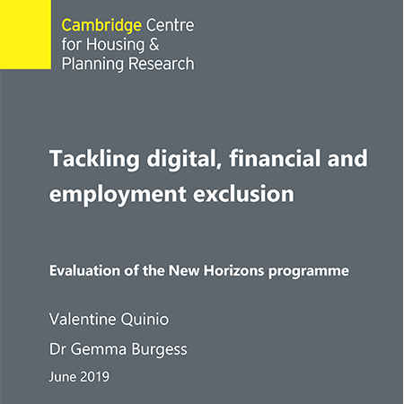 Tackling digital, financial and employment exclusion