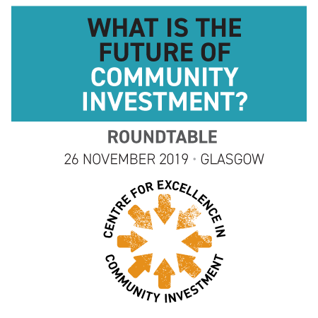 Roundtable: What is the future of community investment? (Glasgow)