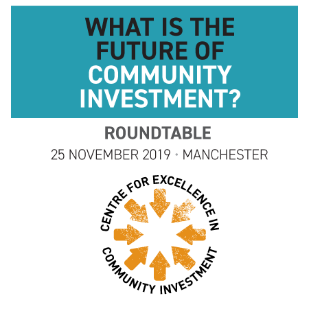 Roundtable: What is the future of community investment? (Manchester)