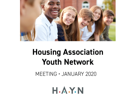 Housing Association Youth Network meeting
