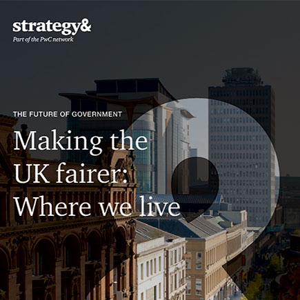 Making the UK fairer: Where we live