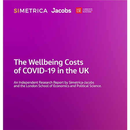 The Wellbeing Costs of COVID-19 in the UK