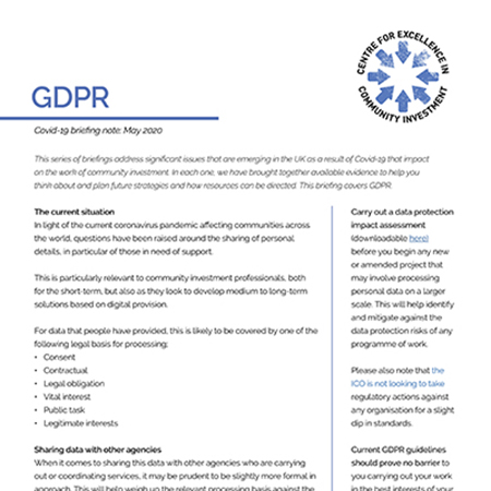 GDPR and Covid-19 briefing