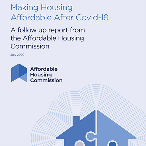 Making Housing Affordable After Covid-19