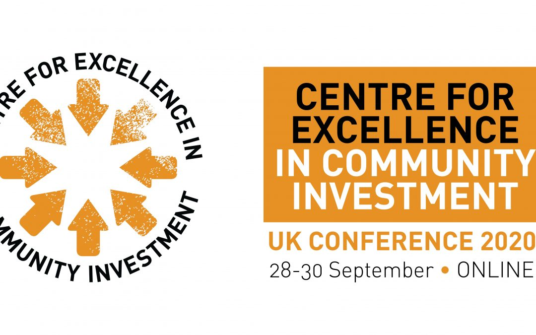 Centre for Excellence in Community Investment: online conference 2020