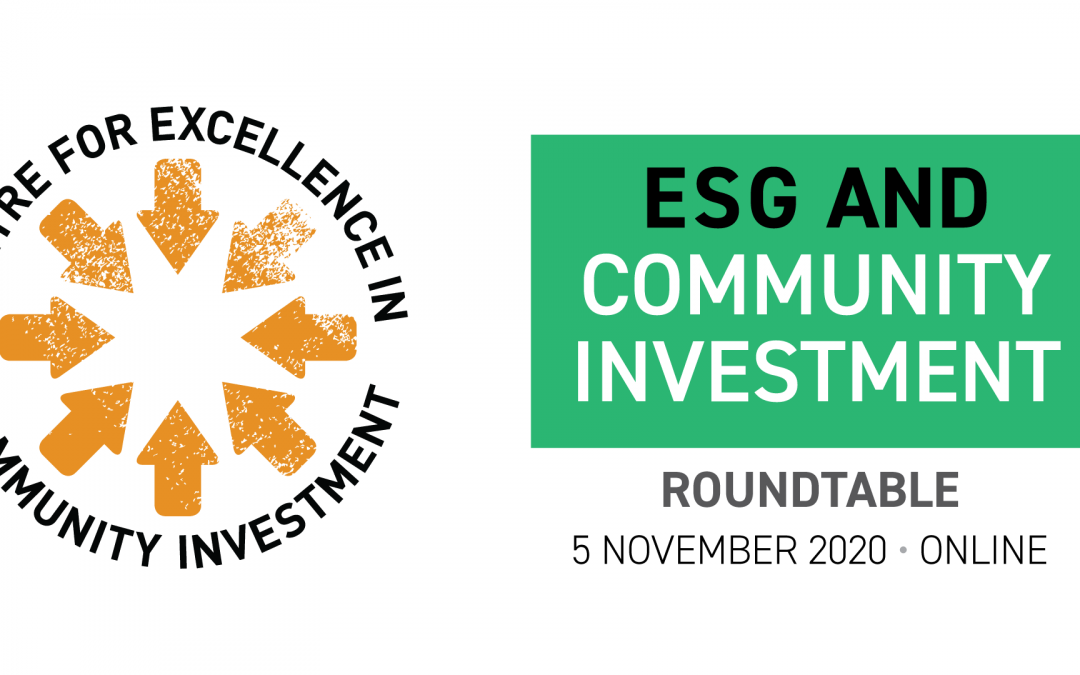 ESG and community investment webinar