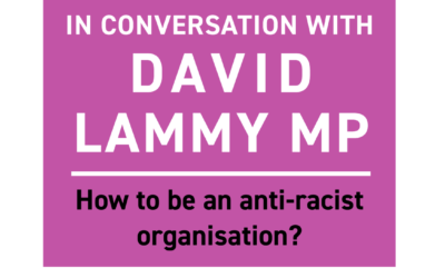 In conversation with David Lammy… how to be an anti-racist organisation?